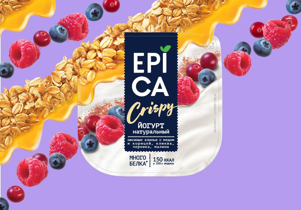 дизайн упаковки йогурта